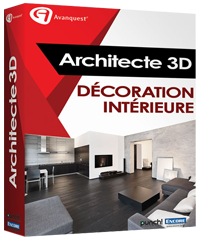 architecte 3d v19 logiciel de d coration int rieure architecte 3d. Black Bedroom Furniture Sets. Home Design Ideas