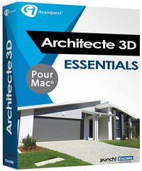 Architecte 3D Mac Essentials 2017 (V19)