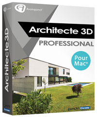 Comparaison de version du logiciel architecte 3d pour mac for 3d architecte pro